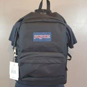 JanSport SuperBreak Black Laptop Backpack